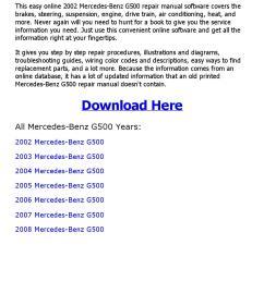 2002 mercedes benz g500 repair manual online [ 1156 x 1496 Pixel ]