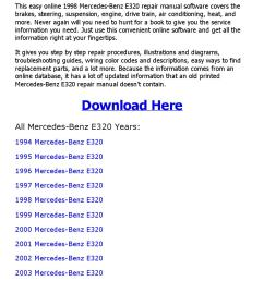 1998 mercedes benz e320 repair manual online by mhraihan issuu [ 1156 x 1496 Pixel ]