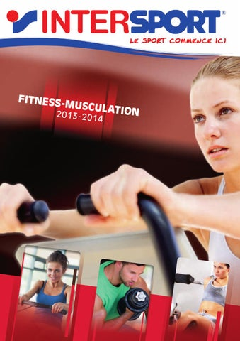 catalogue inter sport fitness 2013