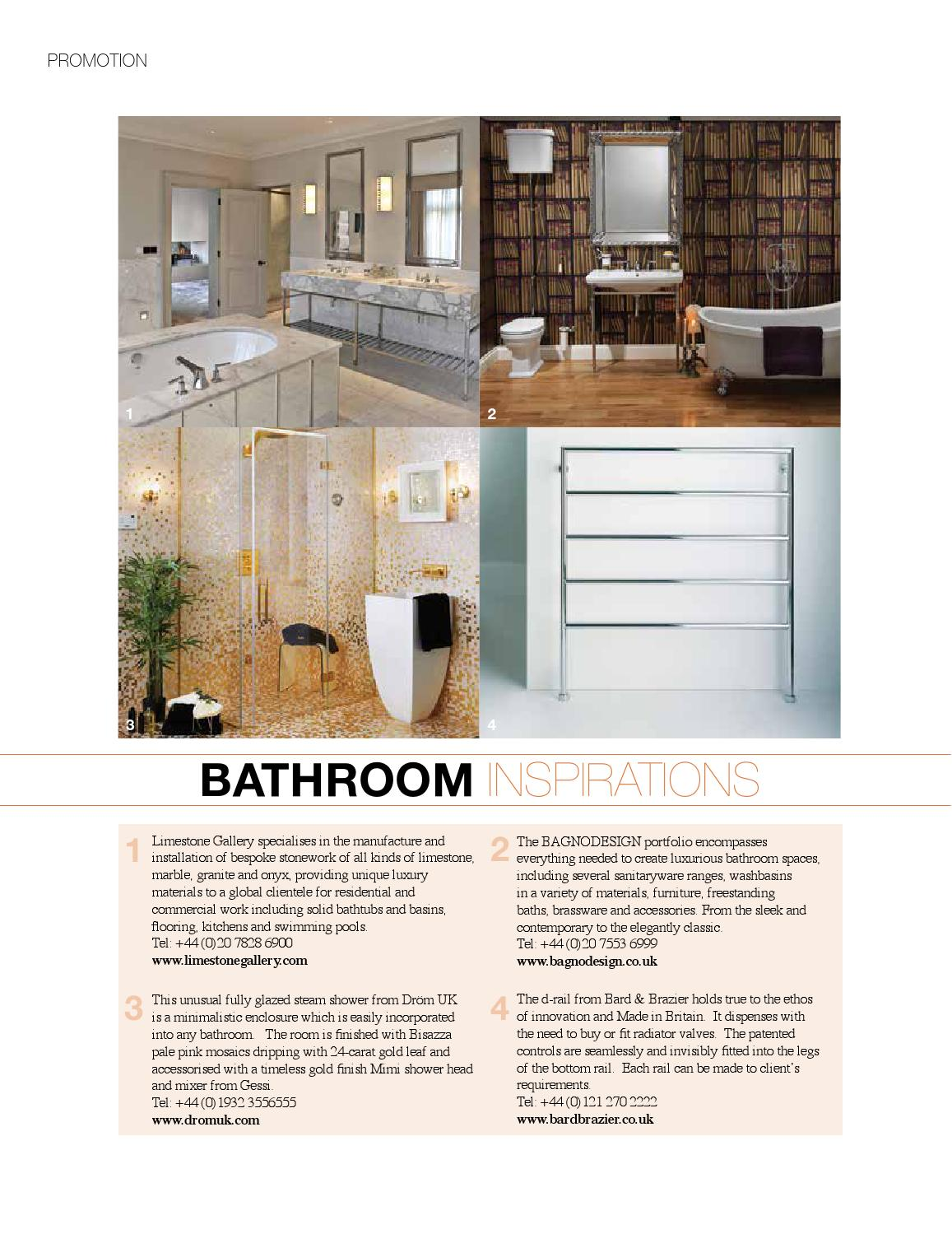 kitchen and mixer island stove bagno design il alessi one wall mounted bidet bridge for winter 2013 uk by issuu