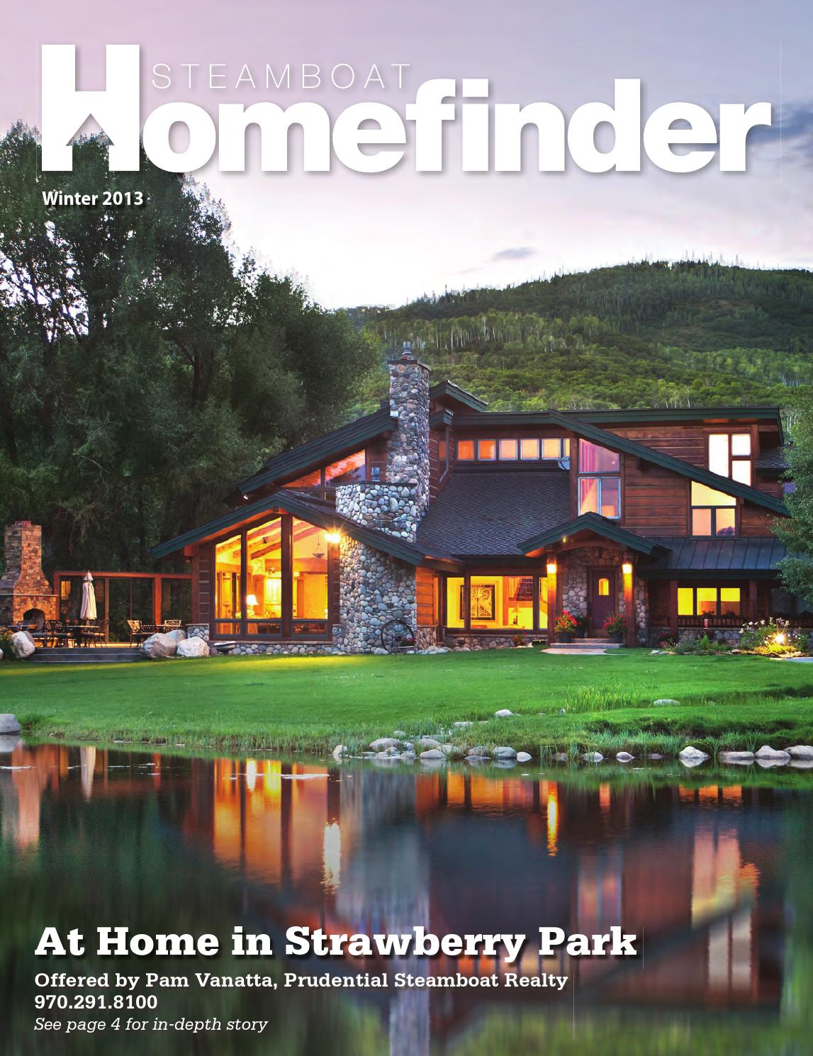 Steamboat Homefinder Winter 2013 by Steamboat Pilot