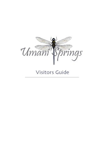 Umani Springs Visitors Guide by David Sheldrick Wildlife