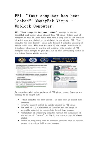 Fbi Moneypak Virus | brandforesight co