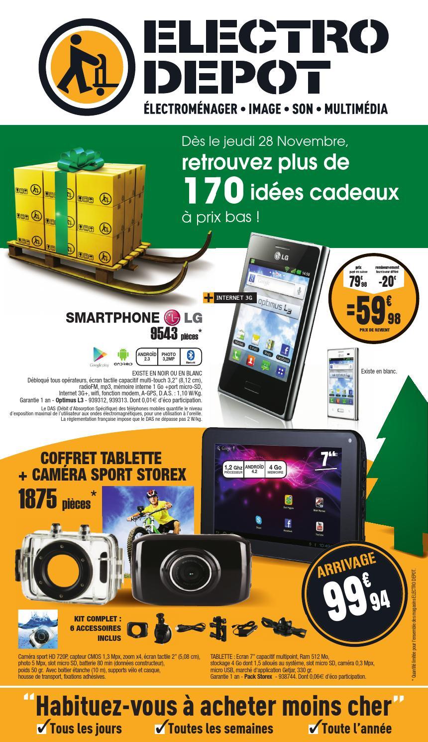 catalogue electro depot 28 11 26 12