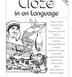 Cloze in on Language: Ages 12-14 by Teacher Superstore - issuu [ 1497 x 1058 Pixel ]