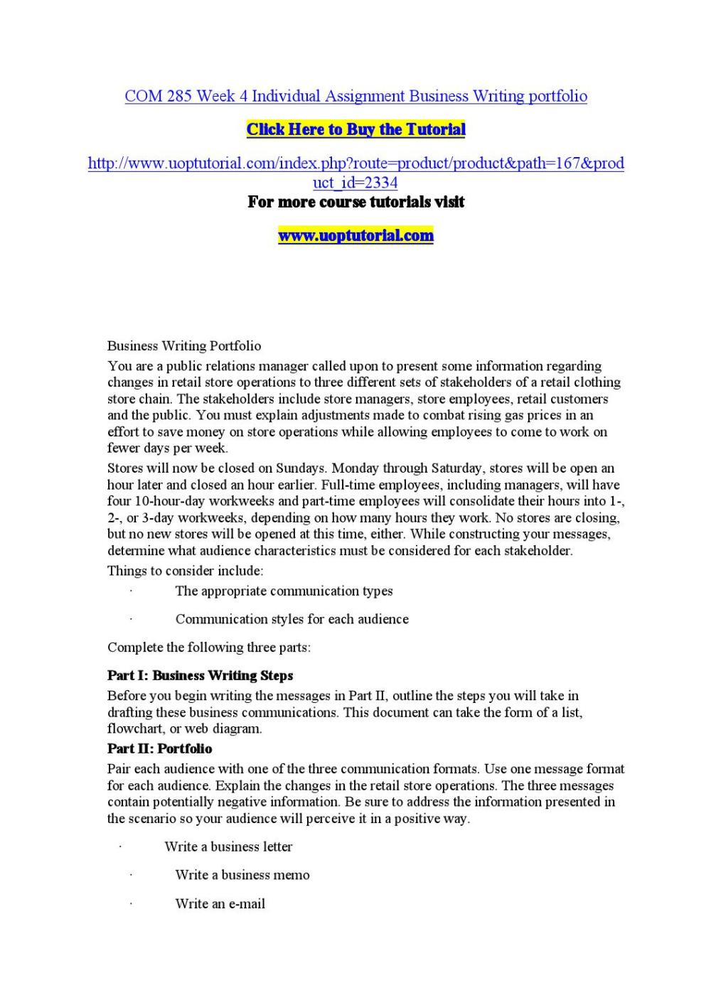 medium resolution of com 285 week 4 individual assignment the appropriate communication types by nagahsa2718 issuu