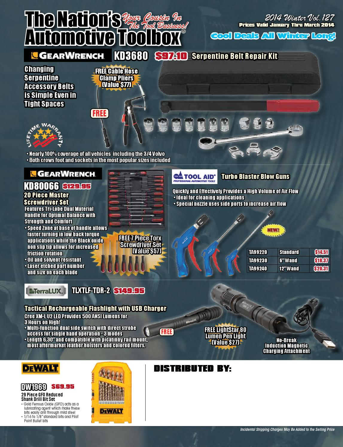 hight resolution of the nation s automotive toolbox winter 2014 by the nation s automotive tool box issuu