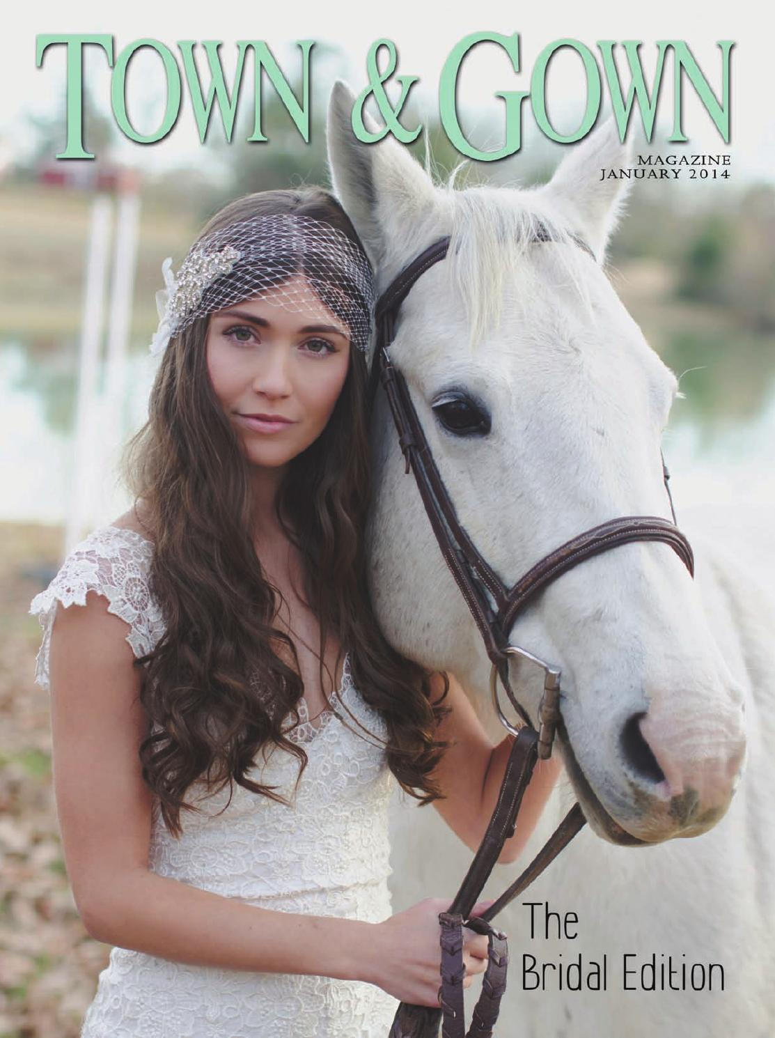January 2014 by Town  Gown Magazine  Issuu