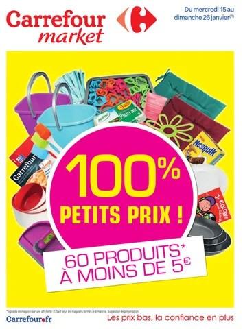 catalogue carrefour market 15 26 01
