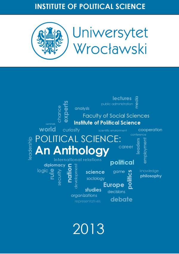 Political Science Anthology Marcin Opchowski - Issuu