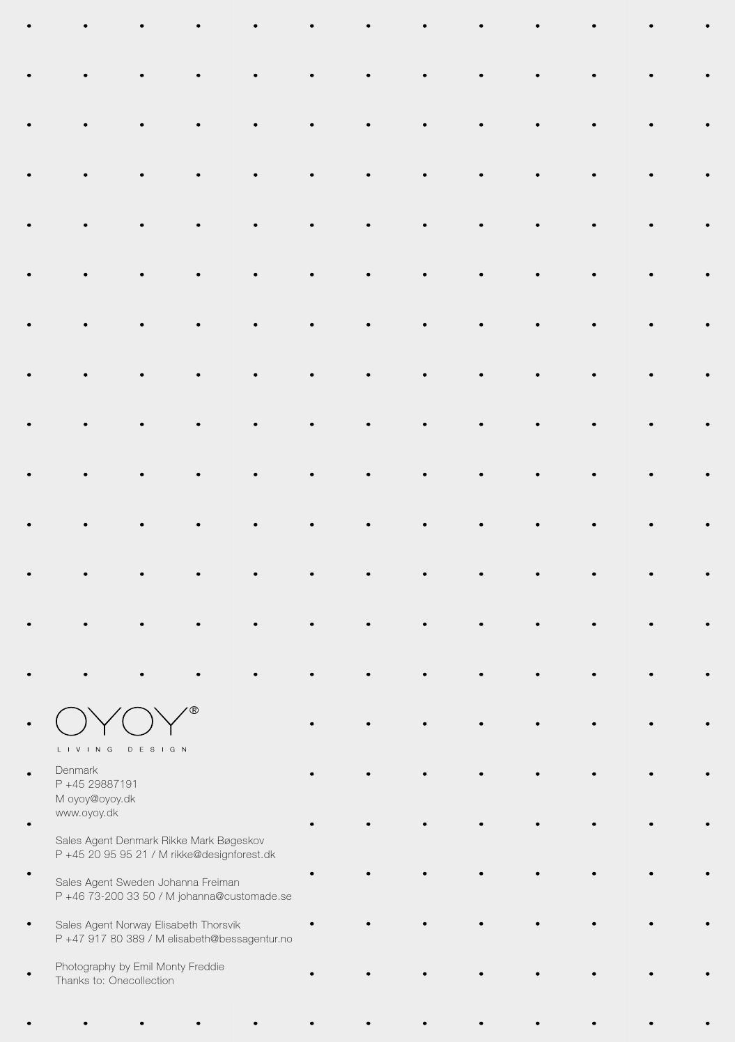 OYOY Living Design SS14 catalogue by OYOY Living Design