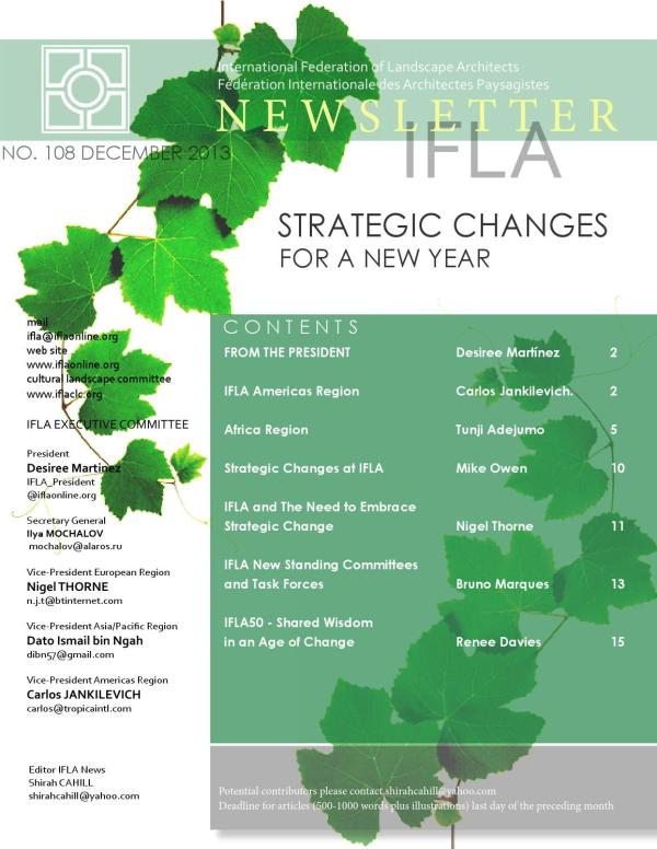 25+ International Federation Of Landscape Architects
