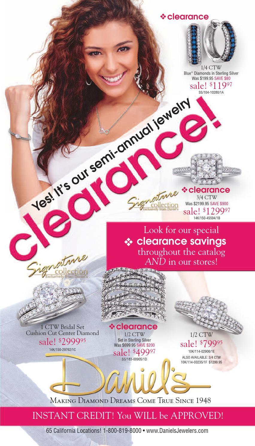 Daniels Jewelry Payment : daniels, jewelry, payment, Daniel's, Jewelers, Semi-Annual, Jewelry, Clearance, Issuu