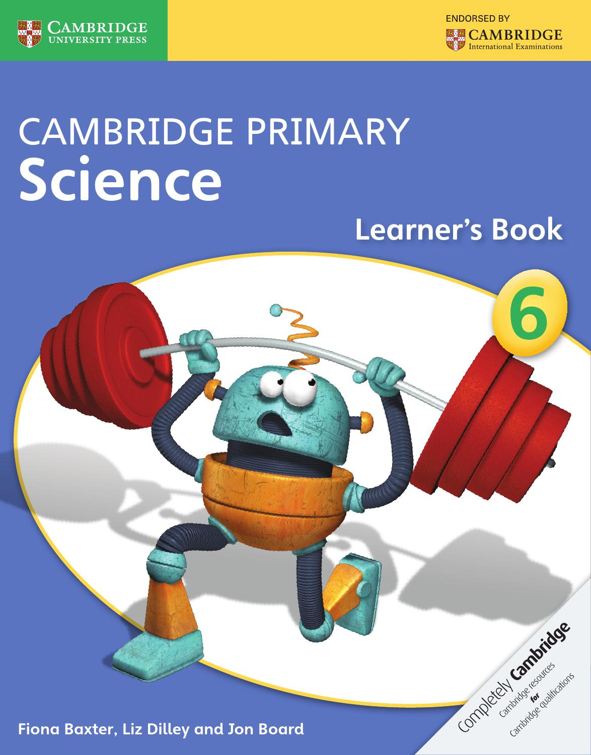 hight resolution of Cambridge Primary Science Learner's Book 6 by Cambridge University Press  Education - issuu