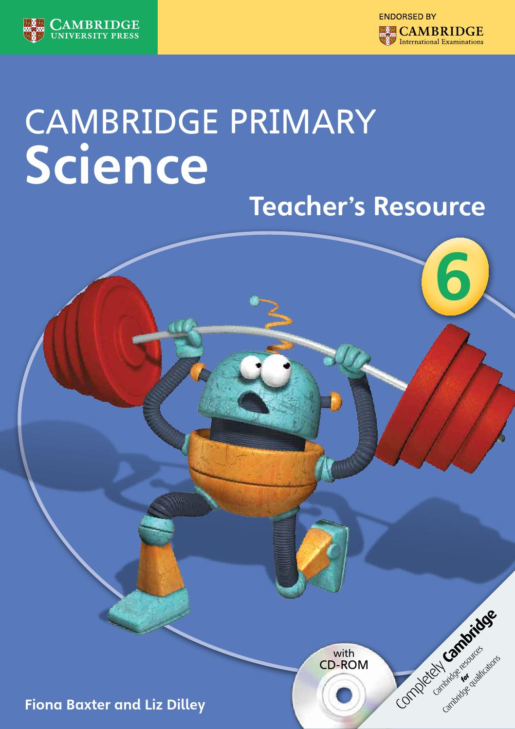 hight resolution of Cambridge Primary Science Teacher's Resource Book 6 with CD-ROM by Cambridge  University Press Education - issuu
