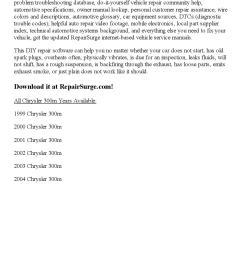 2002 chrysler 300m repair manual online [ 1156 x 1496 Pixel ]