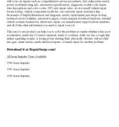 1991 isuzu impulse repair manual online [ 1156 x 1496 Pixel ]