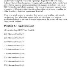 2010 mercedes benz slk350 repair manual online [ 1156 x 1496 Pixel ]