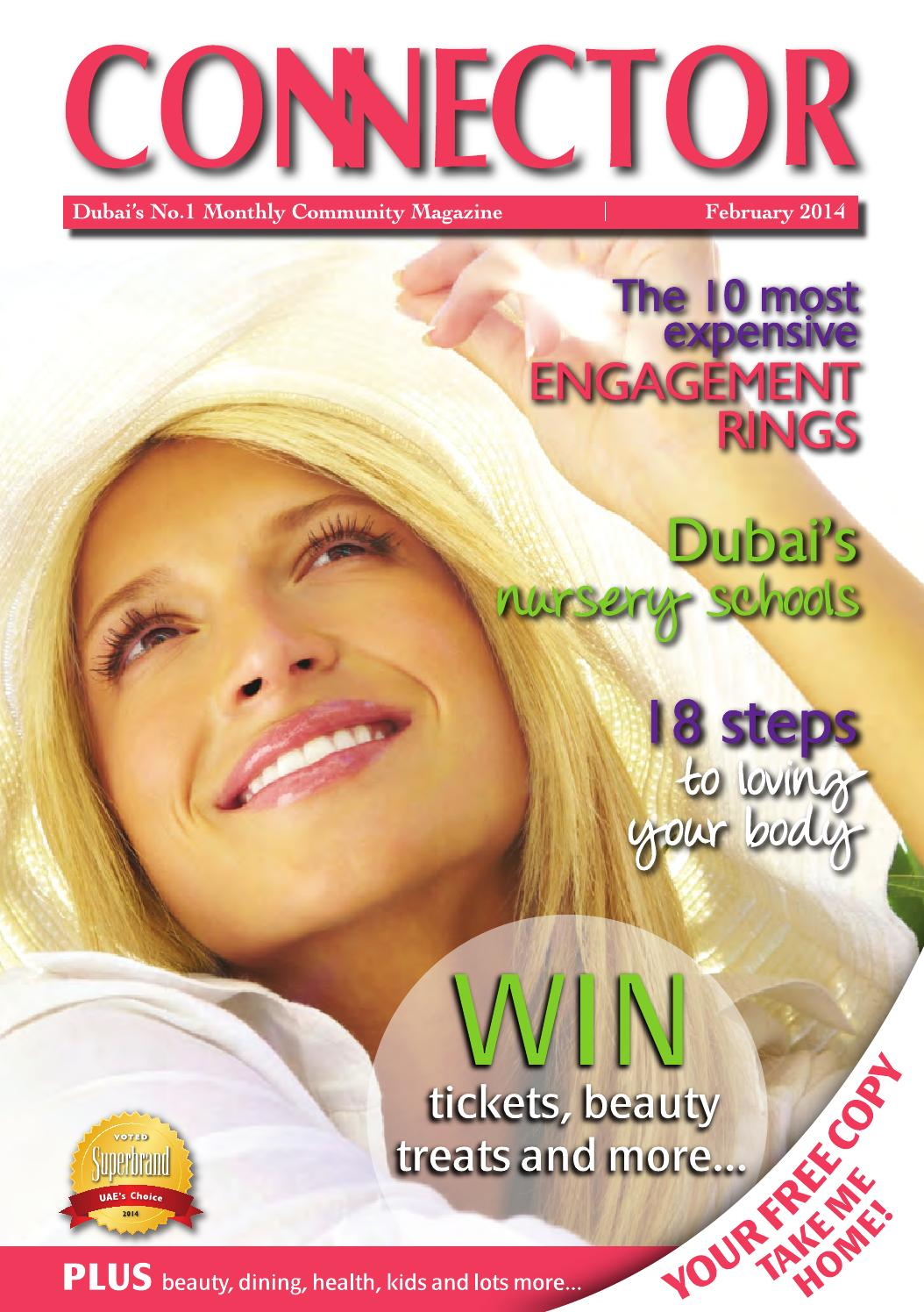 February 2014 Connector Dubai By Connector Publishing Issuu