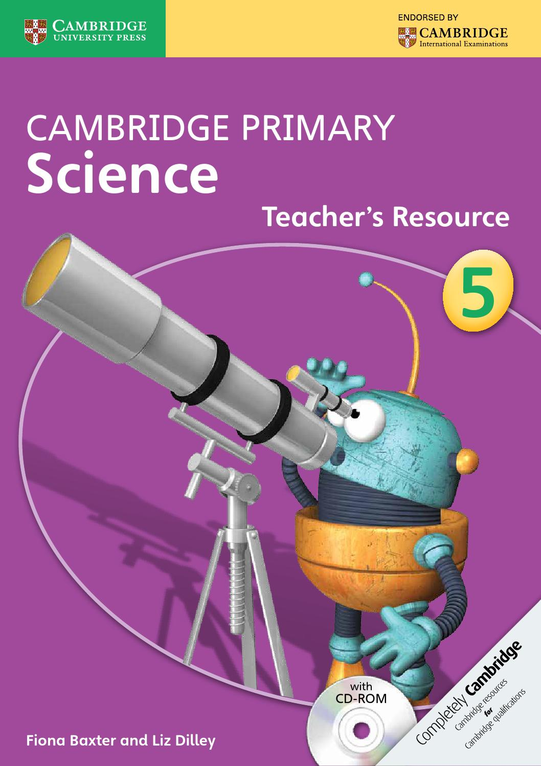 hight resolution of Cambridge Primary Science Teacher's Resource Book 5 with CD-ROM by  Cambridge University Press Education - issuu