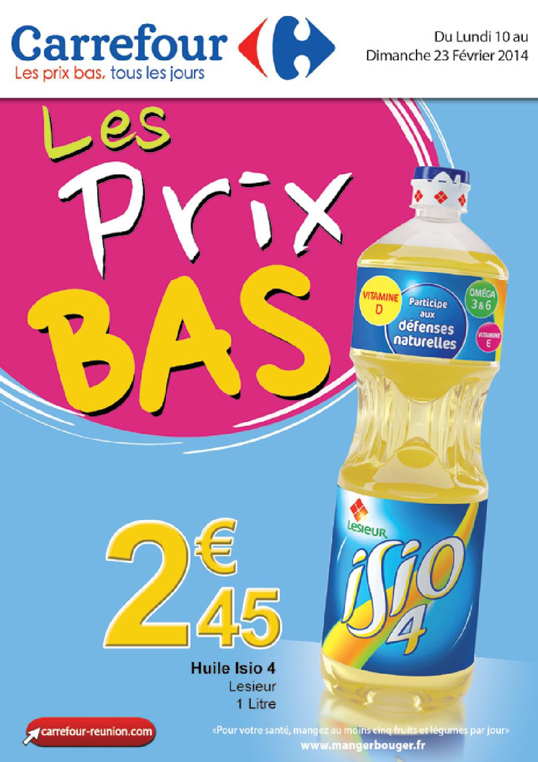 les prix bas by carrefour issuu