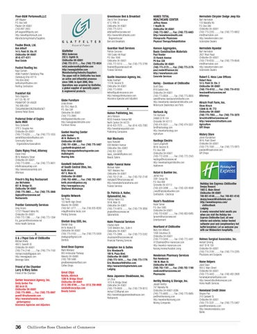 Chillicothe, OH 2014 Chamber Profile and Resource Guide by