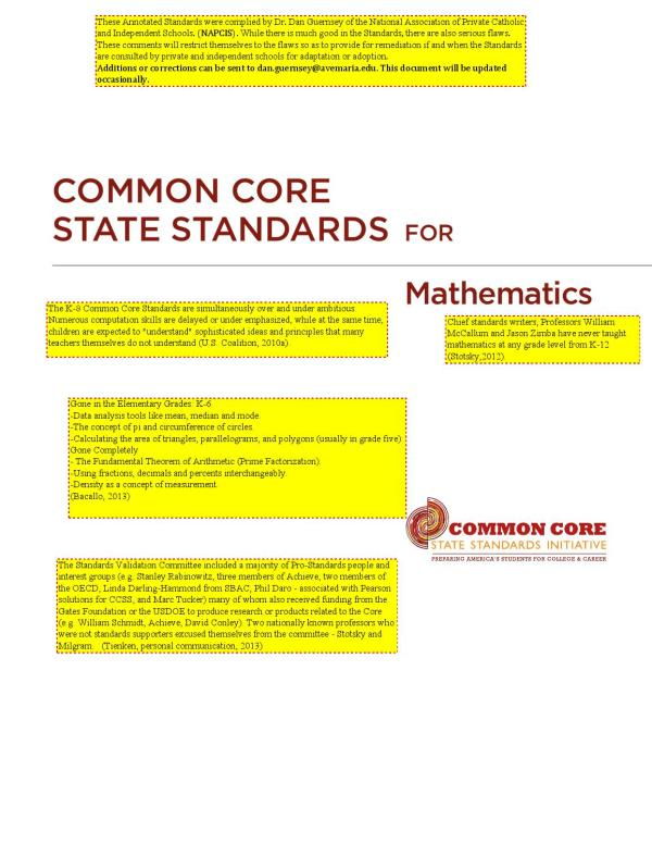 Napcis Annotated Common Core Math Standards - Issuu