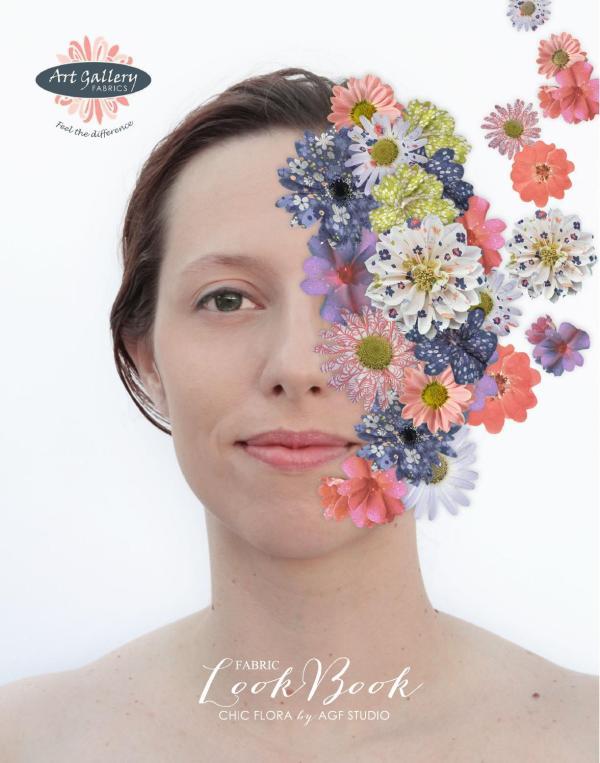 Chic Flora Fabric Collection Agf Studio Art