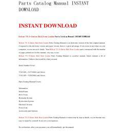 bobcat 751 g series skid steer loader parts catalog manual instant download by nwqrez issuu [ 1059 x 1497 Pixel ]