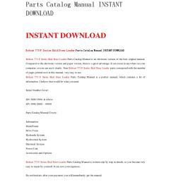 bobcat 773 f series skid steer loader parts catalog manual instant download by nwqrez issuu [ 1059 x 1497 Pixel ]