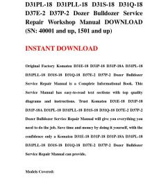 komatsu d31e 18 d31p 18 d31p 18a d31pl 18 d31pll 18 d31s 18 d31q 18 d37e 2 d37p 2 dozer bulldozer se by repair 2 issuu [ 1058 x 1497 Pixel ]