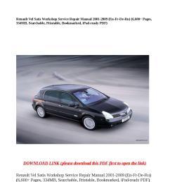 renault vel satis workshop service repair manual 2001 2009 en fr de ru 6 600 pages 334mb search by buhbu issuu [ 1058 x 1497 Pixel ]