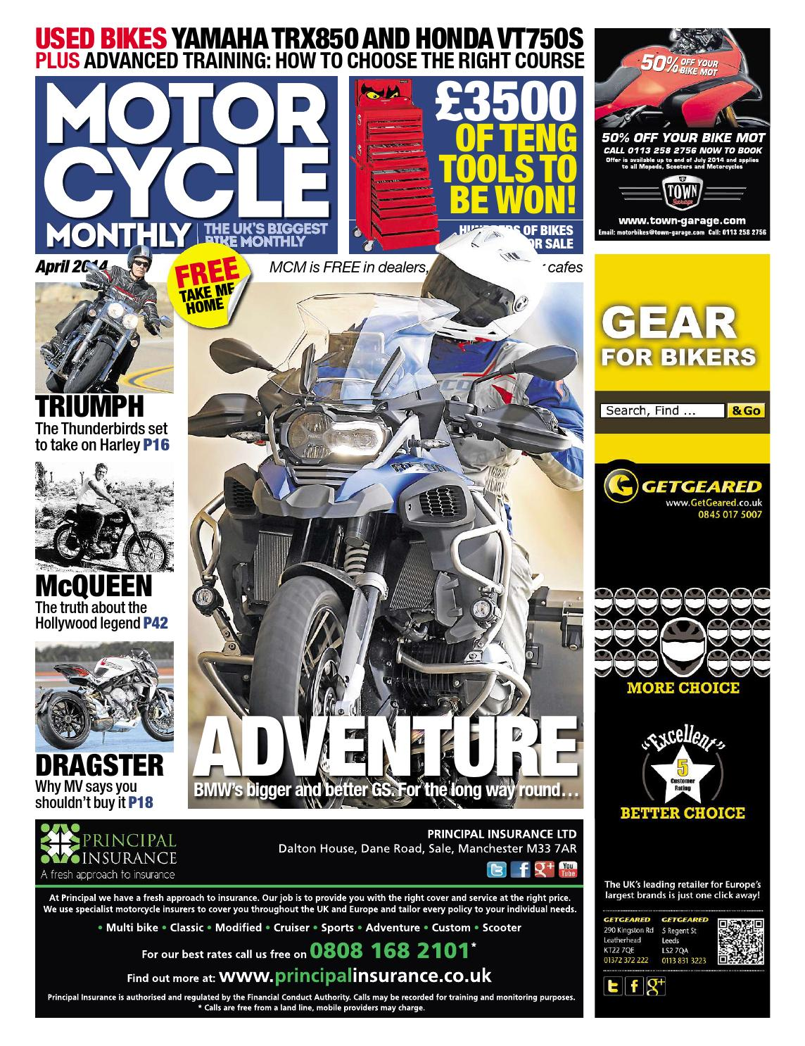 hight resolution of motor cycle monthly april 2014 full edition by mortons media group ltd issuu