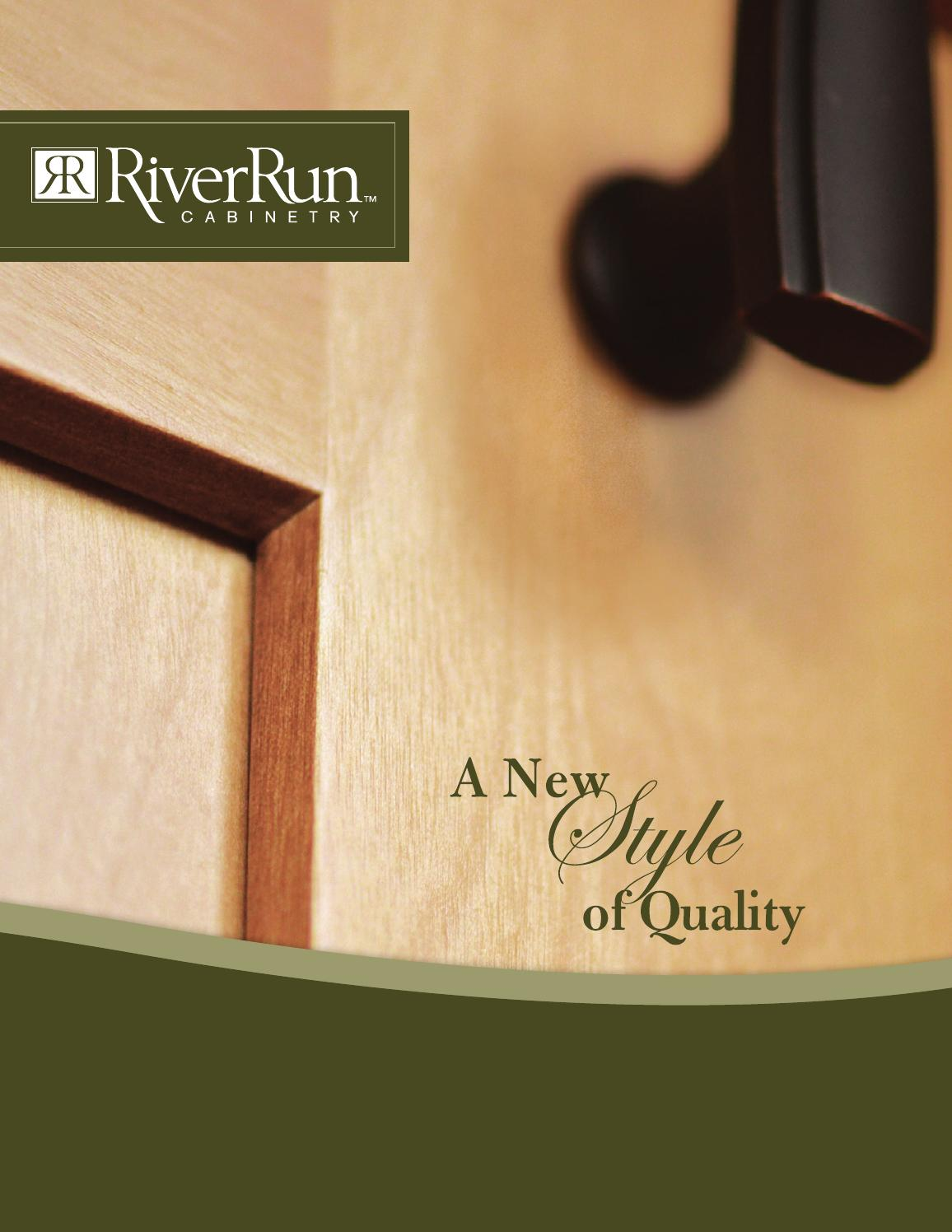 River Run Cabinetry by Susan Tower  Issuu
