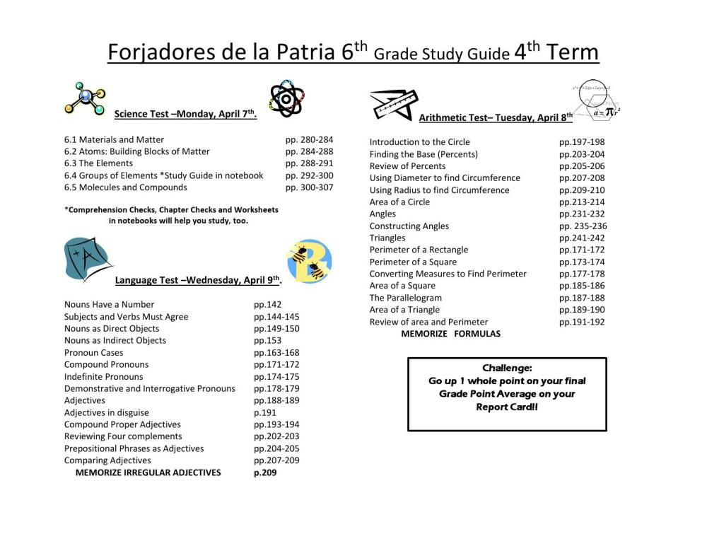 medium resolution of Guía de estudio 6P by FORJADORES DE LA PATRIA - issuu