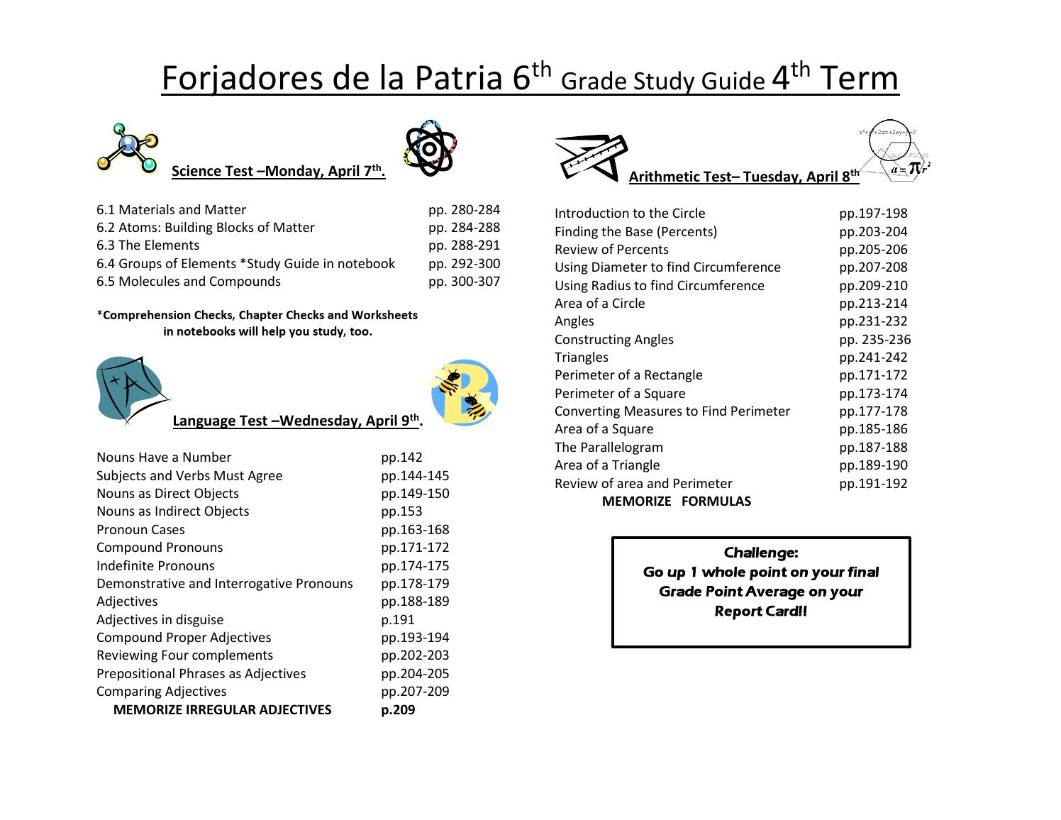 hight resolution of Guía de estudio 6P by FORJADORES DE LA PATRIA - issuu