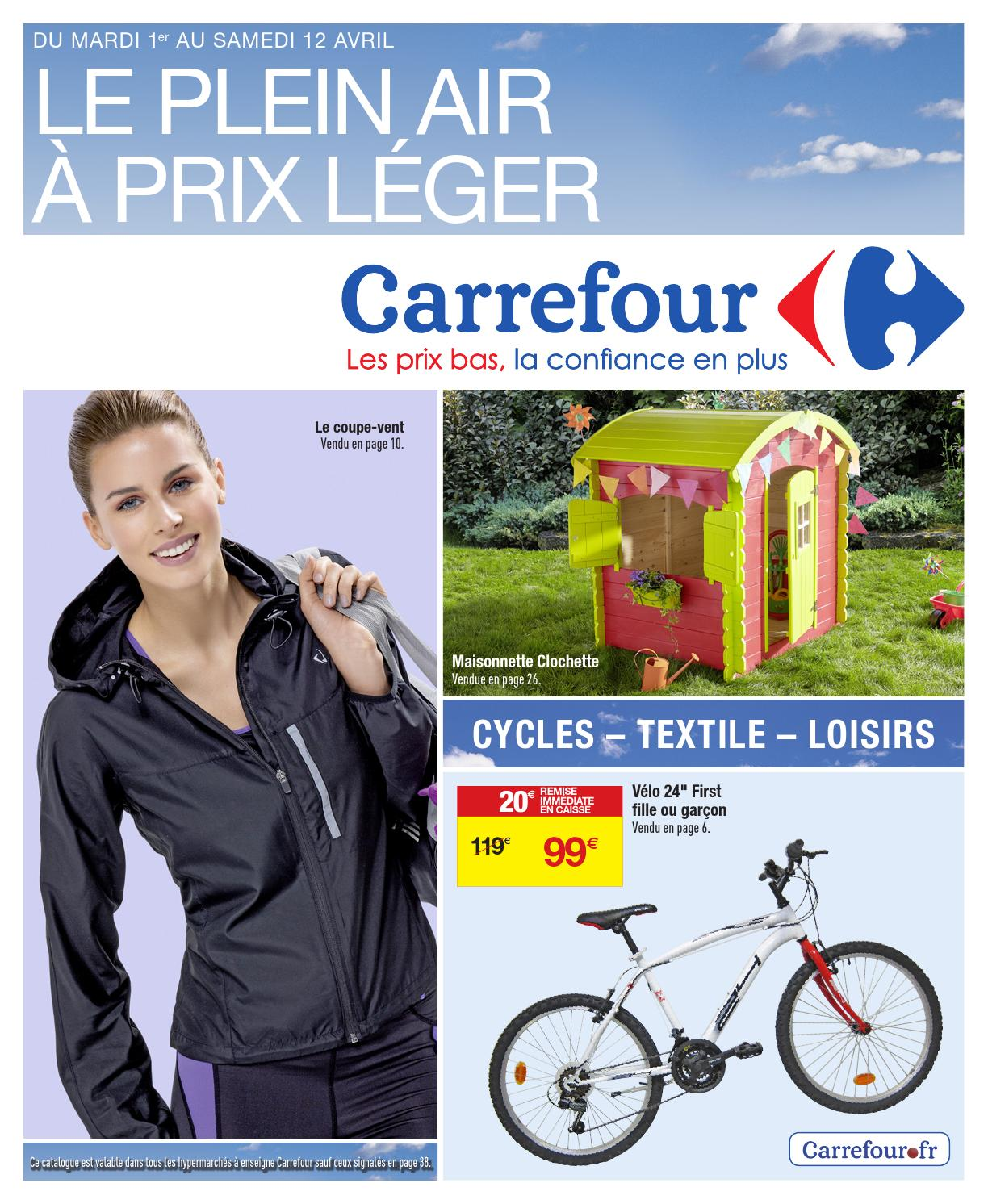 catalogue carrefour 1 12 04 2014 by