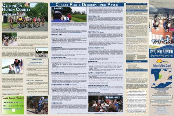 2014 Cycling Brochure County Of Huron - Issuu