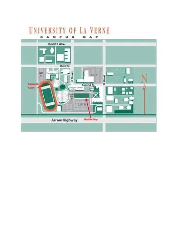 University Of La Verne Map : university, verne, University, Verne, Campus, Sprosenko, Issuu