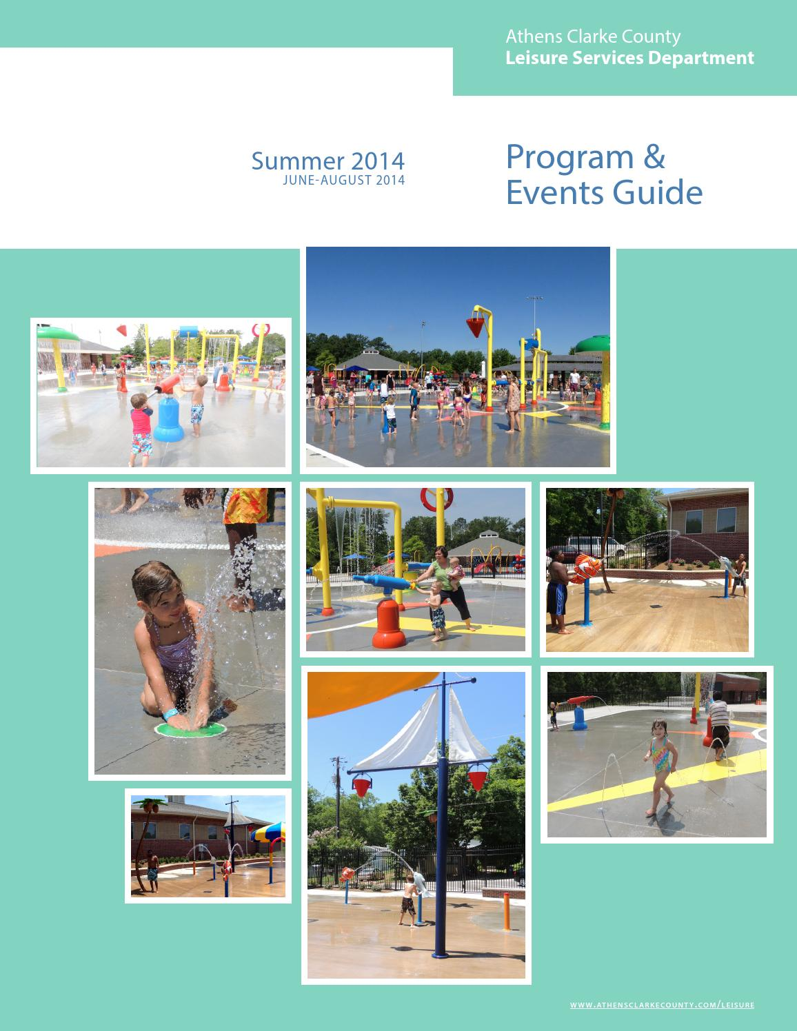 ACC Leisure Services Department Summer 2014 Program Guide final by ACC Leisure Services - Issuu