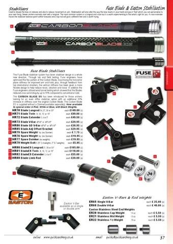 Fuse Carbon Blade Stabilizer