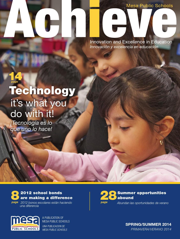 Mesa Public Schools  Achieve Summer 2014 by Republic
