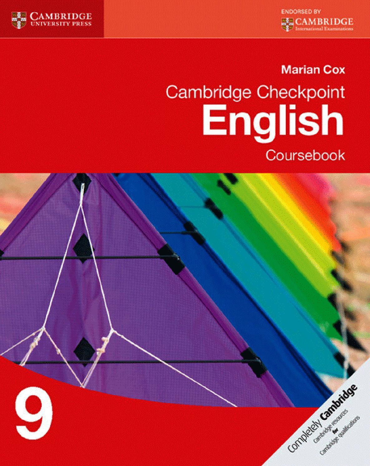 hight resolution of Cambridge Checkpoint English Coursebook 9 by Cambridge University Press  Education - issuu