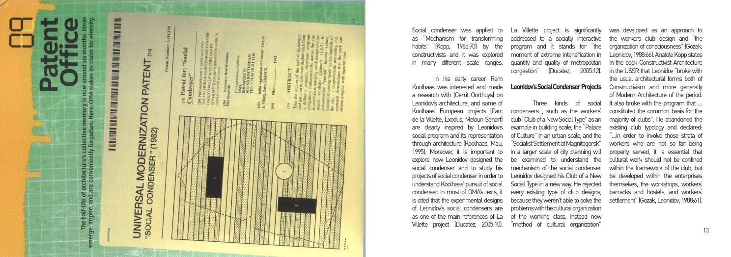 oma parc de la villette diagram 2001 nissan pathfinder bose radio wiring design strategies in by rem koolhaas tsvetelina todorova issuu