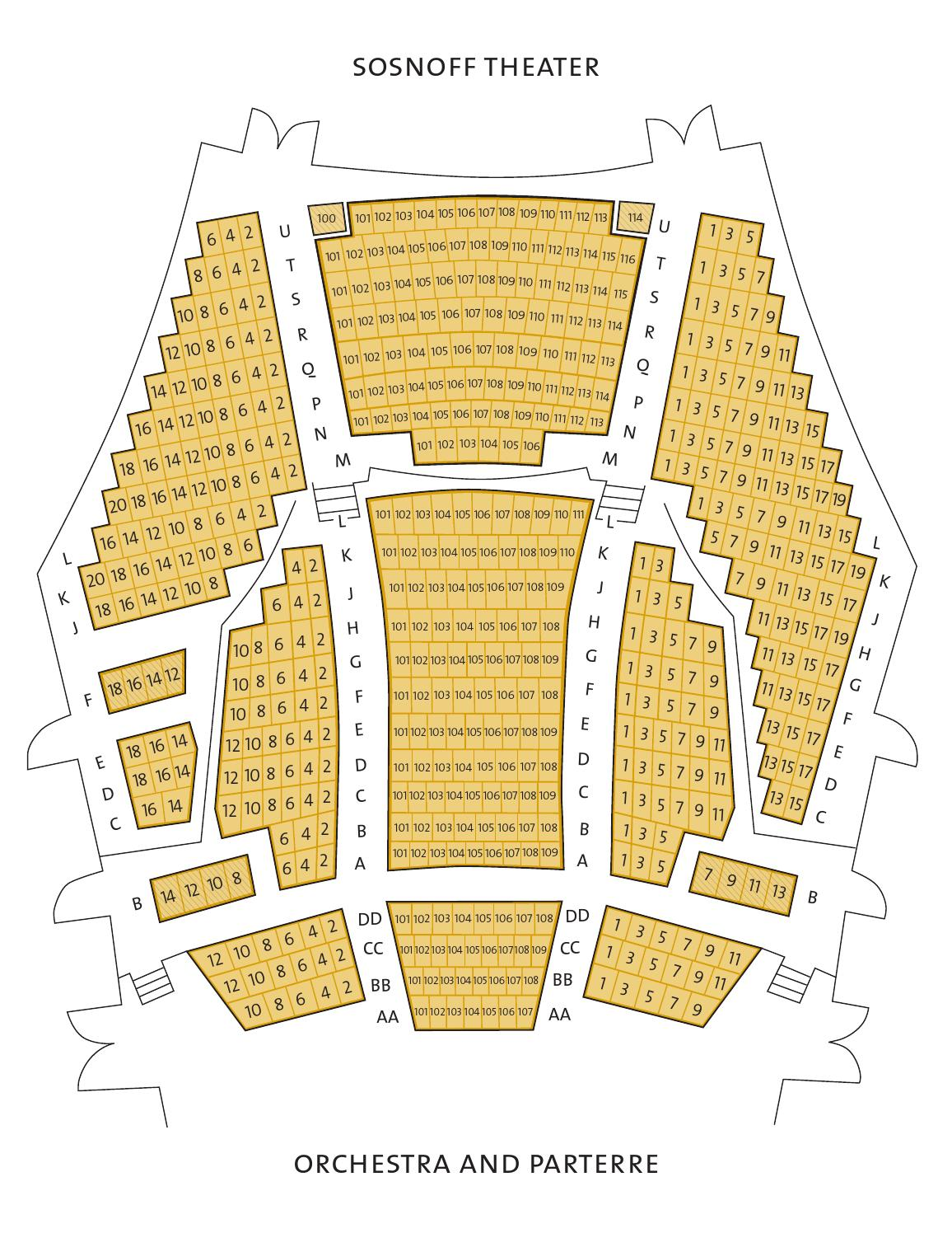 Fisher Theater Seating Chart : fisher, theater, seating, chart, Fisher, Center, Venues,, Seating, Chart, Issuu