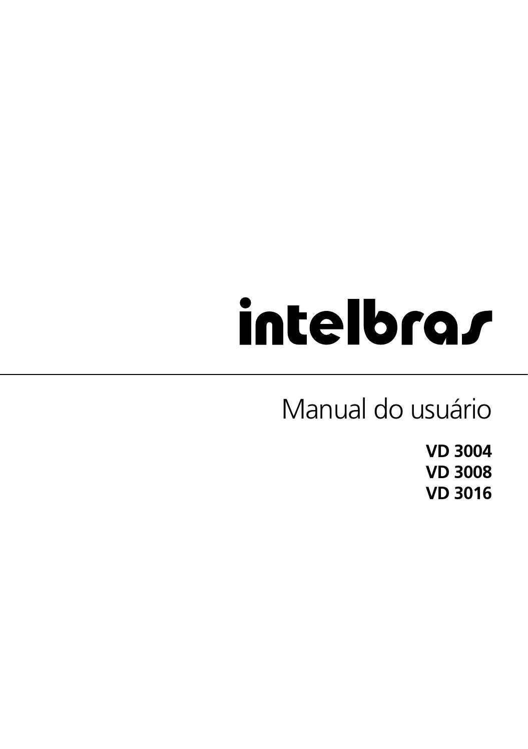 Manual vd 3004 3008 3016 portugues 01 14 site by Bruno