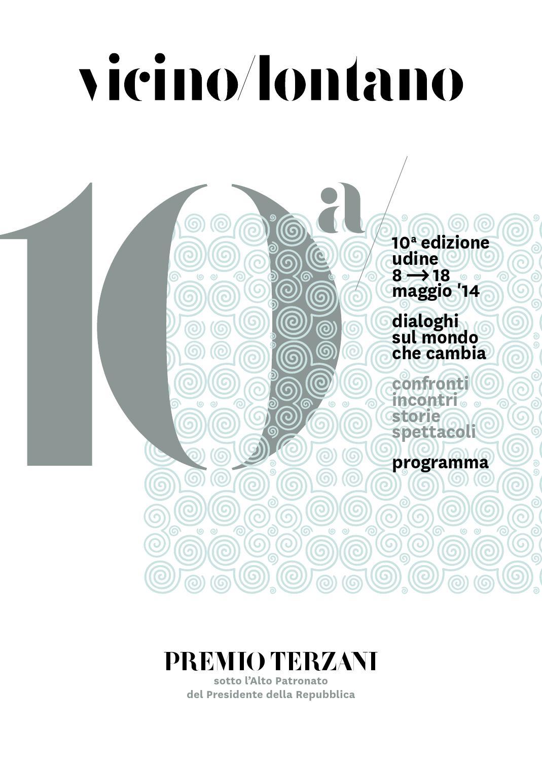Programma vicinolontano 2014 by Paolo Ermano  Issuu
