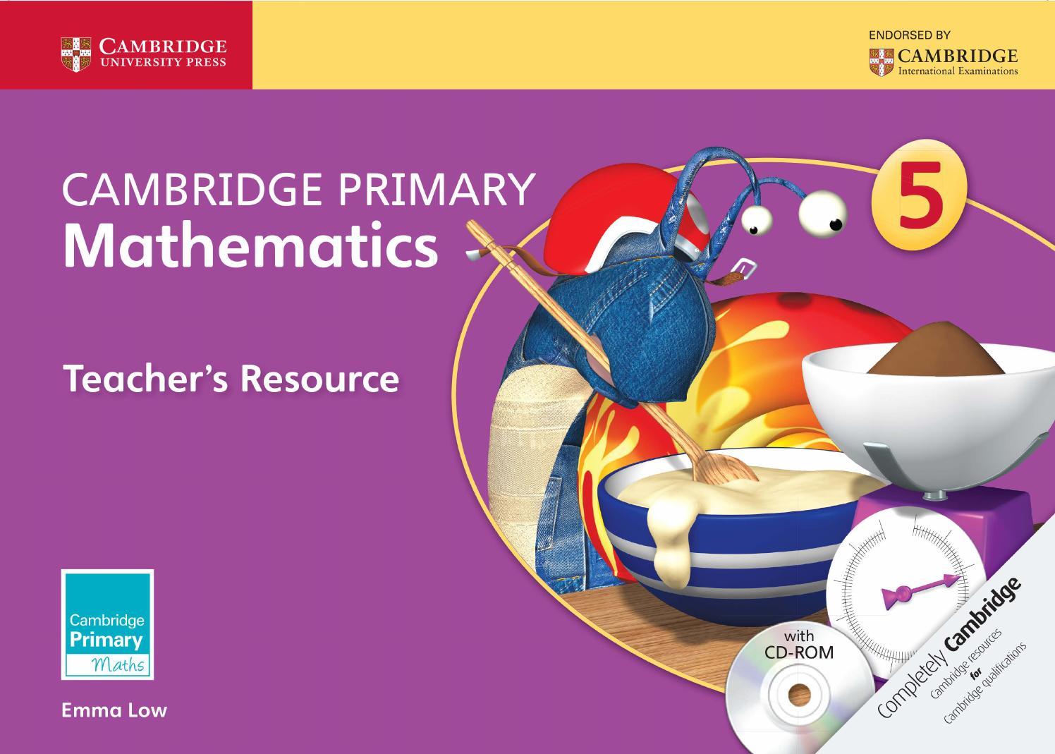 hight resolution of Cambridge Primary Mathematics Teacher's Resource 5 by Cambridge University  Press Education - issuu