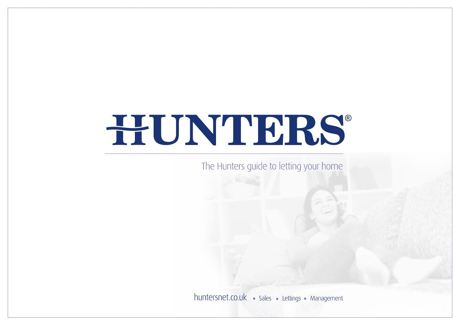 Hunters lettings brochure by Hunters Property Group Ltd