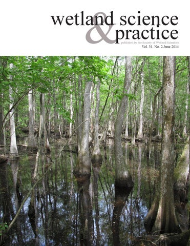 Wetland Science And Practice June 2014 By Society Of Wetland